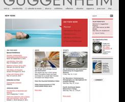 Guggenheim's New Website Is Built on Joomla